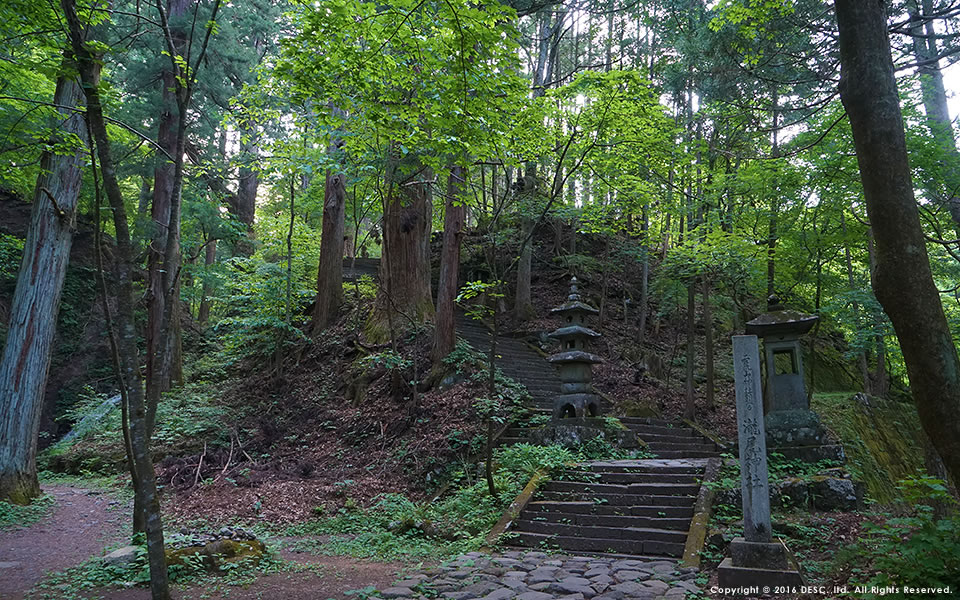 神社への参道