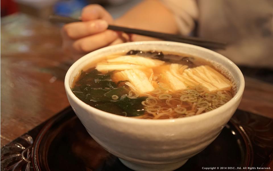 龍王峡周辺の食事